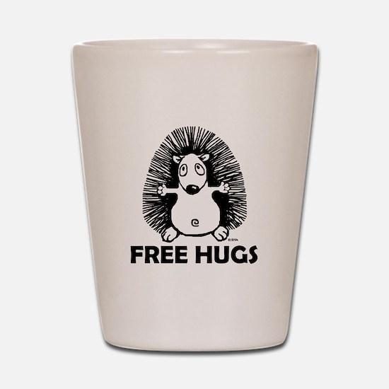 Free hugs Shot Glass