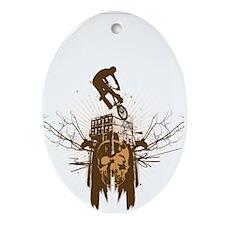 BMX Ornament (Oval)