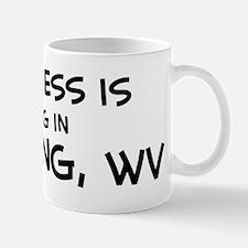 Happiness is Wheeling Mug