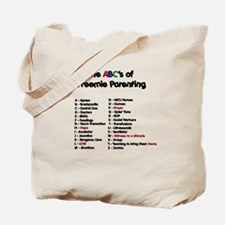 ABC's of Preemie Parenting Tote Bag