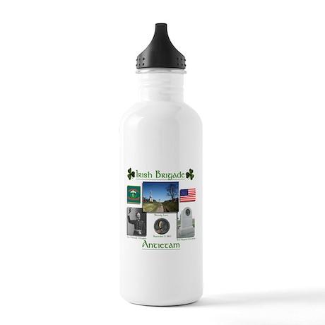 Irish Brigade at Antietam Stainless Water Bottle 1