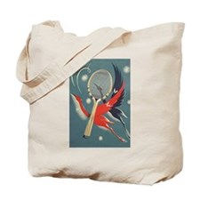 Art Nouveau Tennis Bag