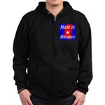 Made In Mississippi Zip Hoodie (dark)