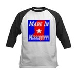Made In Mississippi Kids Baseball Jersey