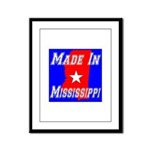 Made In Mississippi Framed Panel Print