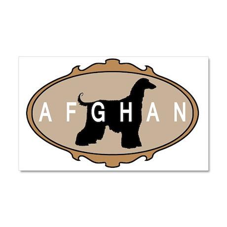 afghan hound Car Magnet 20 x 12