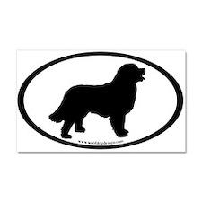 Funny Bernese mountain dog Car Magnet 20 x 12