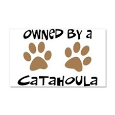 Owned By A Catahoula Car Magnet 20 x 12