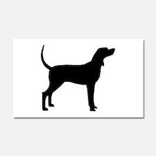 Coonhound Dog (#2) Car Magnet 20 x 12