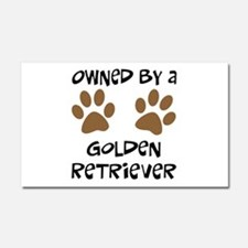 Owned By A Golden... Car Magnet 20 x 12