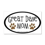 "Great dane mom 12"" x 20"""