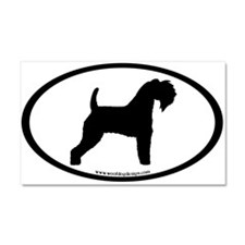 Kerry Blue Terrier Oval Car Magnet 20 x 12