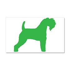 Green Kerry Blue Terrier Car Magnet 20 x 12