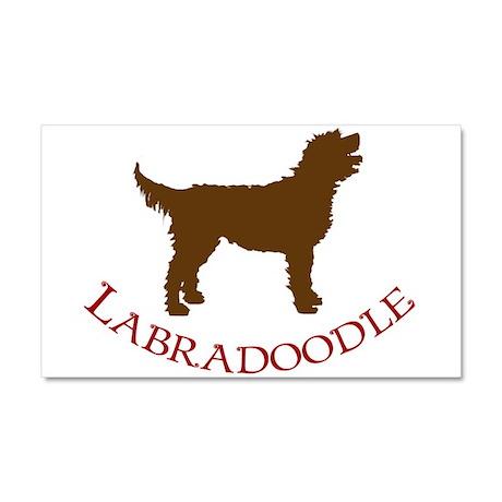 Labradoodle Dog Car Magnet 20 x 12
