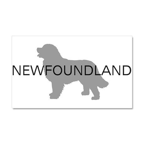 Newfoundland Dog Car Magnet 20 x 12