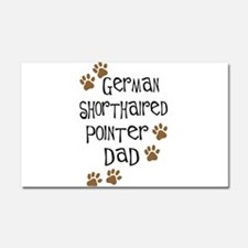 G. Shorthaired Pointer Dad Car Magnet 20 x 12