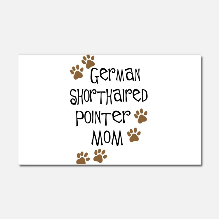 German Shorthaired Pointer Mo Car Magnet 20 x 12