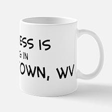 Happiness is Morgantown Mug