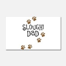 Sloughi Dad Car Magnet 20 x 12