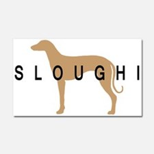 sloughi dog breed Car Magnet 20 x 12