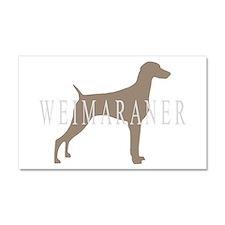 Weimaraner Greytones Car Magnet 20 x 12