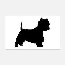 West Highland Terrier Car Magnet 20 x 12