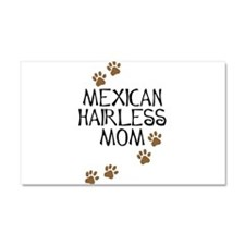 Mexican Hairless Mom Car Magnet 20 x 12