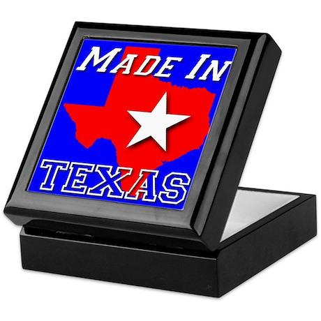 Made in Texas Keepsake Box