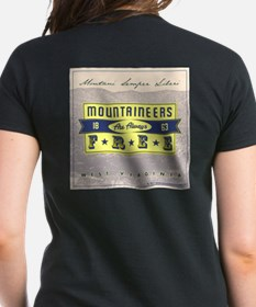 Womens WV State Motto Design T-Shirt. Front &