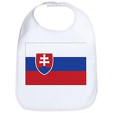Slovakia Flag Bib