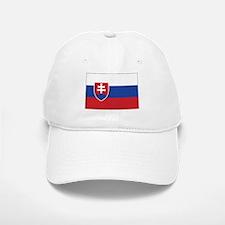 Slovakia Flag Baseball Baseball Cap