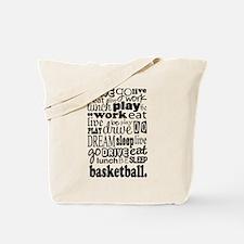 Basketball Gift Tote Bag