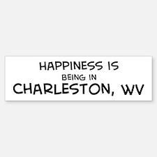 Happiness is Charleston Bumper Bumper Bumper Sticker