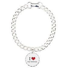 I heart my veteran Bracelet
