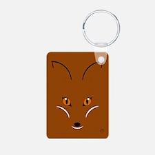 Fox Face Keychains