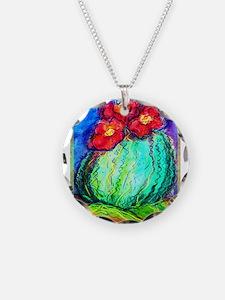 Cactus, Southwest, art, Necklace