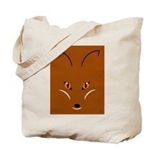 Fox Face Tote Bag