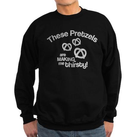 These Pretzels Are Making Me Sweatshirt (dark)