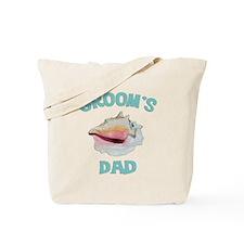 Island Groom's Dad Tote Bag