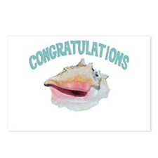 Island Congrats Postcards (Package of 8)