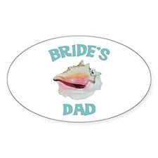 Island Bride's Dad Decal