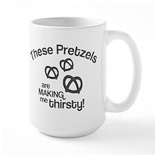 These Pretzels Are Making Me Mug