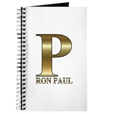 Gold P for Ron Paul 2012 Journal