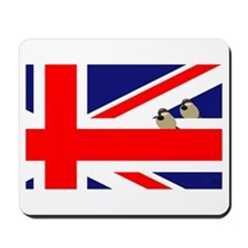 Flag Sparrows Mousepad