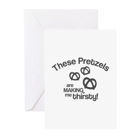 These Pretzels Are Making Me Greeting Cards (Pk of