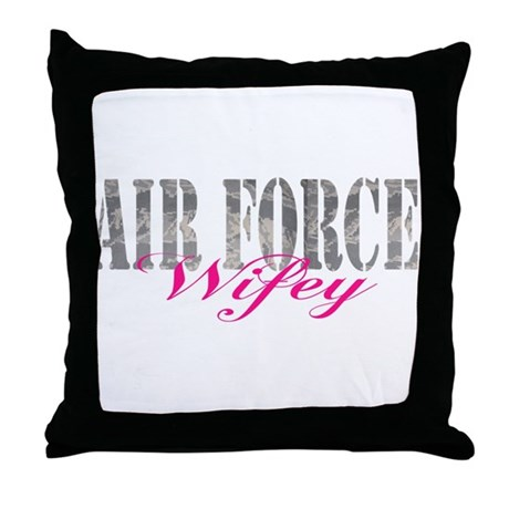 AF Wifey Home/Office Throw Pillow