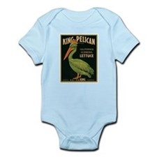 King Pelican Lettuce Infant Bodysuit