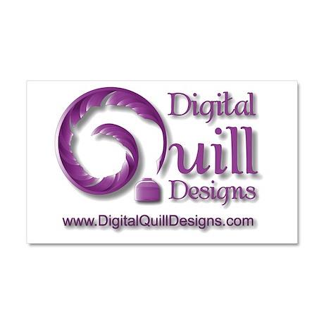 Digital Quill Designs Car Magnet 20 x 12