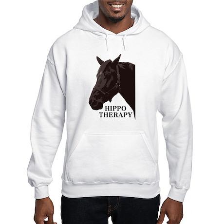 Hippo therapy (Horse Head) Hooded Sweatshirt
