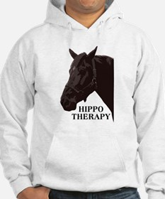 Hippo therapy (Horse Head) Hoodie
